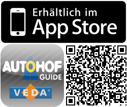 Autohof Guide App for iPhone