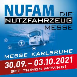NUFAM – Der Treffpunkt der Nutzfahrzeugbranche