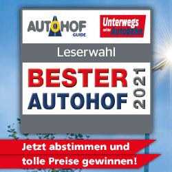 Leser- und Expertenwahl Bester Autohof 2021